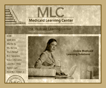 The Medicaid Learning Center - Marketing Site - Built by Land Run Web Group